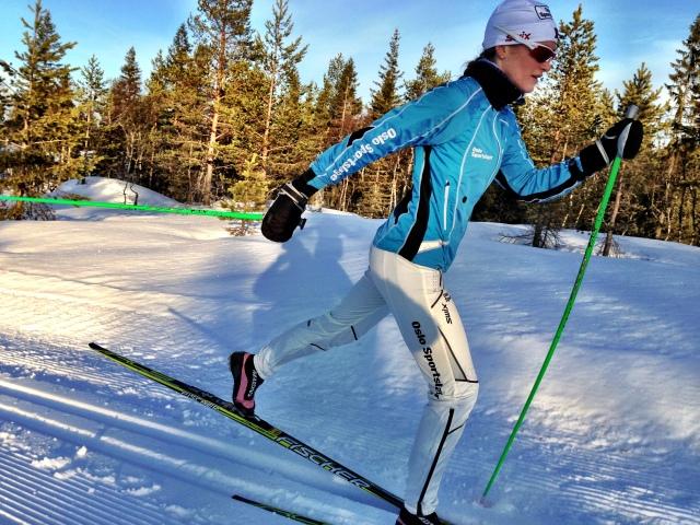 Ny skidress fra Oslo Sportslager
