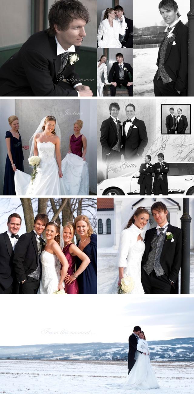 Bilder fra bryllupsalbumet 2