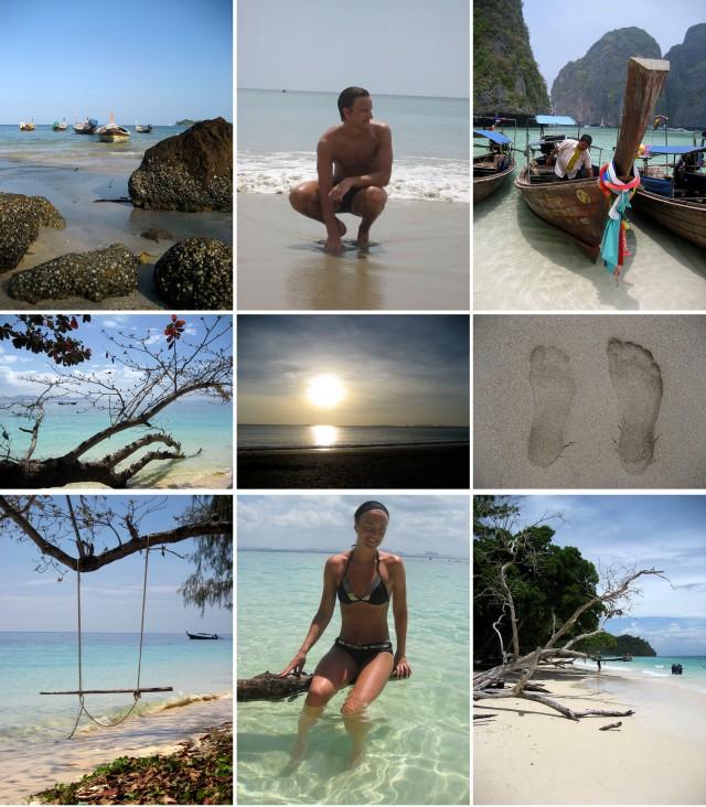 Bilder fra bryllupsreisen i Thailand