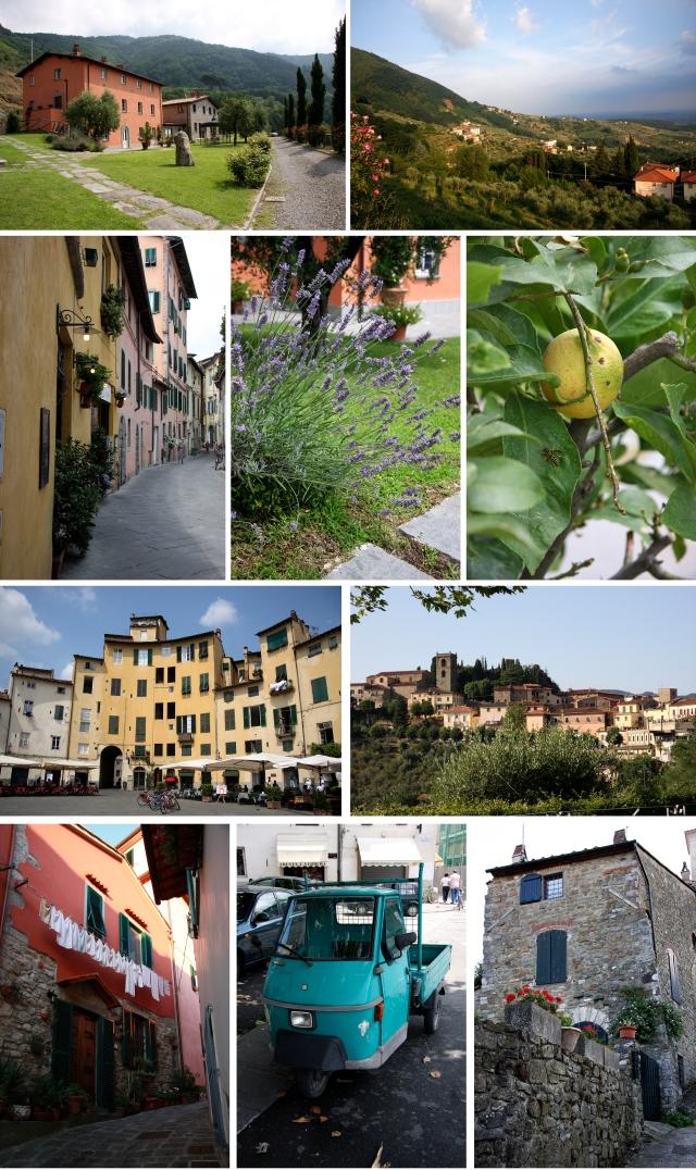 Bilder fra Lucca-området