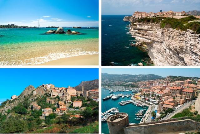 Bilder fra vakre Korsika