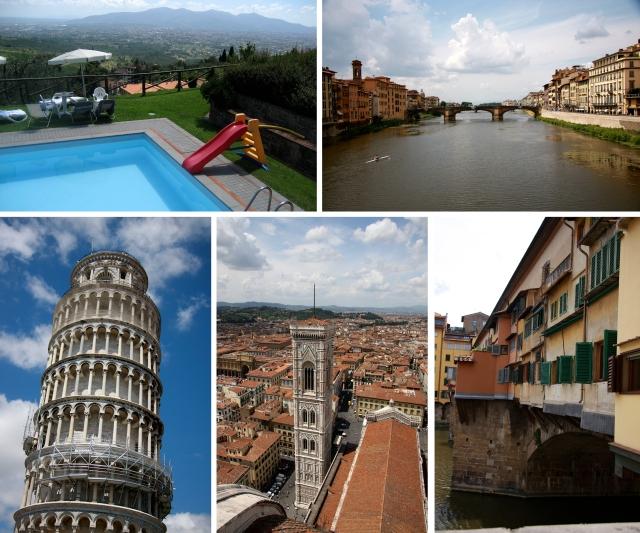 Flere bilder fra Lucca-området