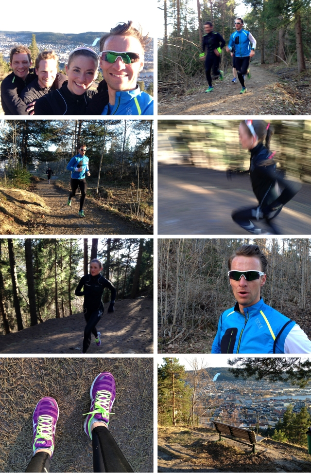 Løpetur i Bragernesåsen