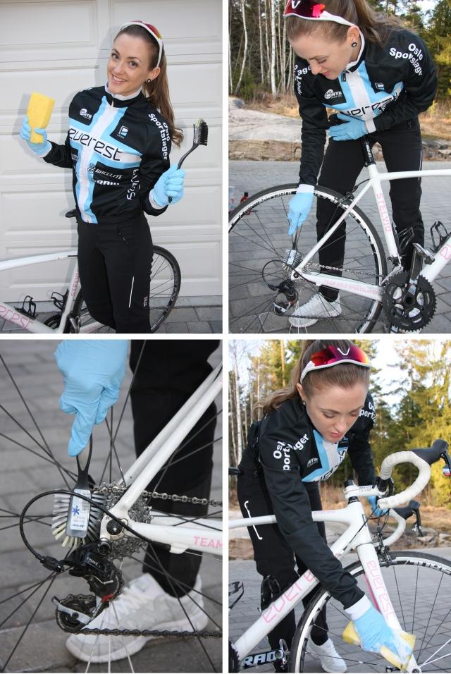 Vask av sykkel 1