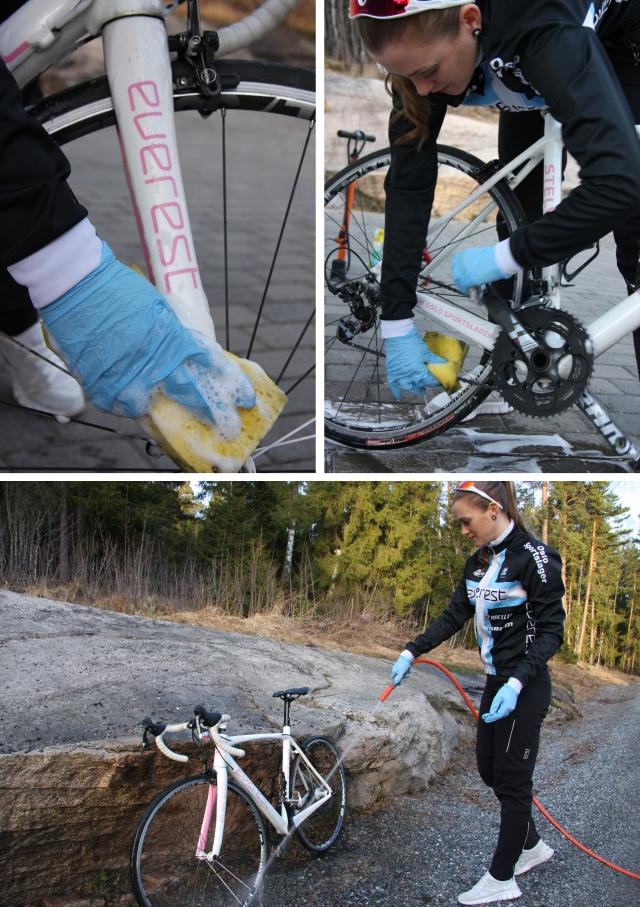Vask av sykkel 2