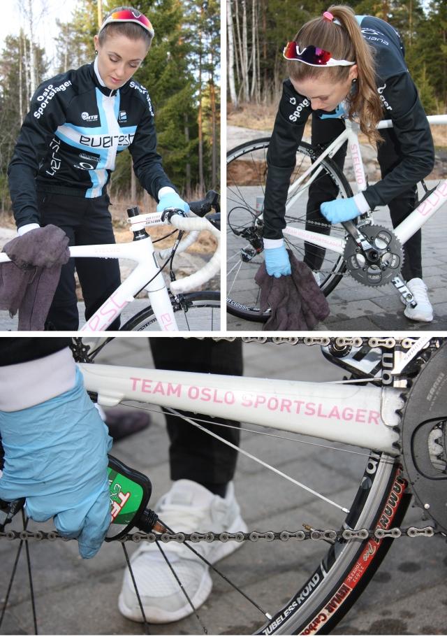 Vask av sykkel 3