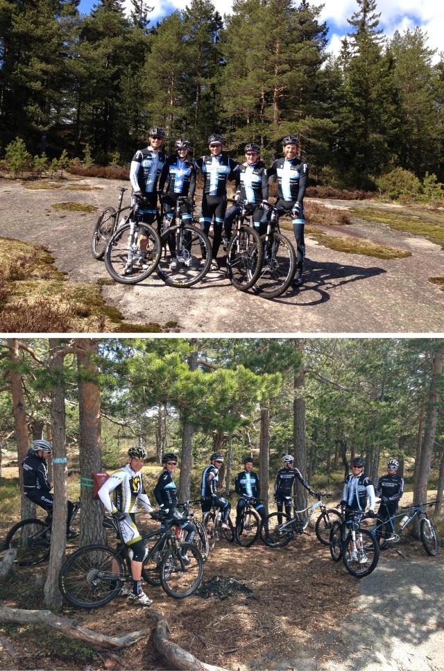 Finfin sykkeltur i Kjekstadmarka