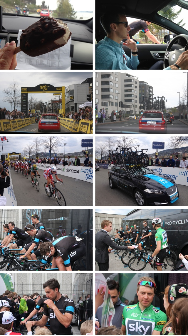 Glava Tour med Team Sky 3