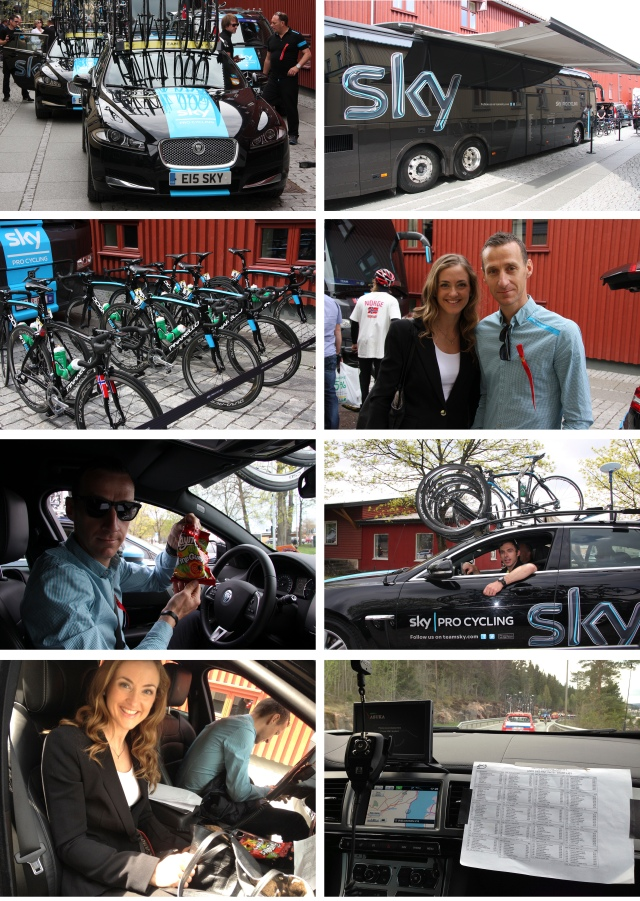 Glava Tour med Team Sky