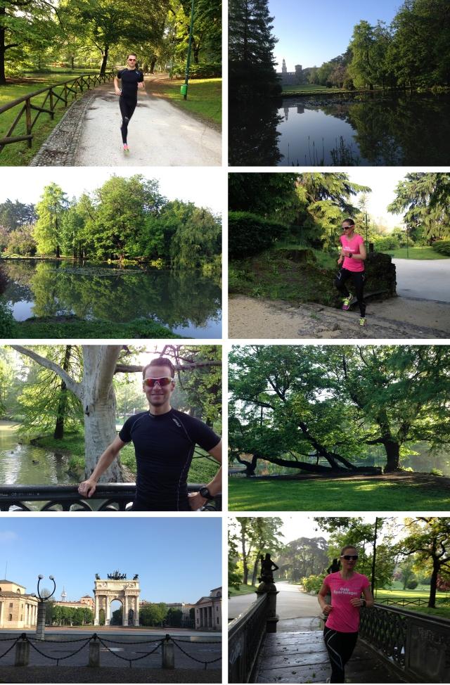 Løpetur i Milano