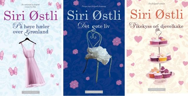 Siri Østlis bøker anbefales