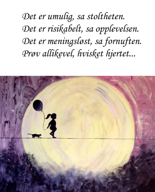 Maleri med tekst