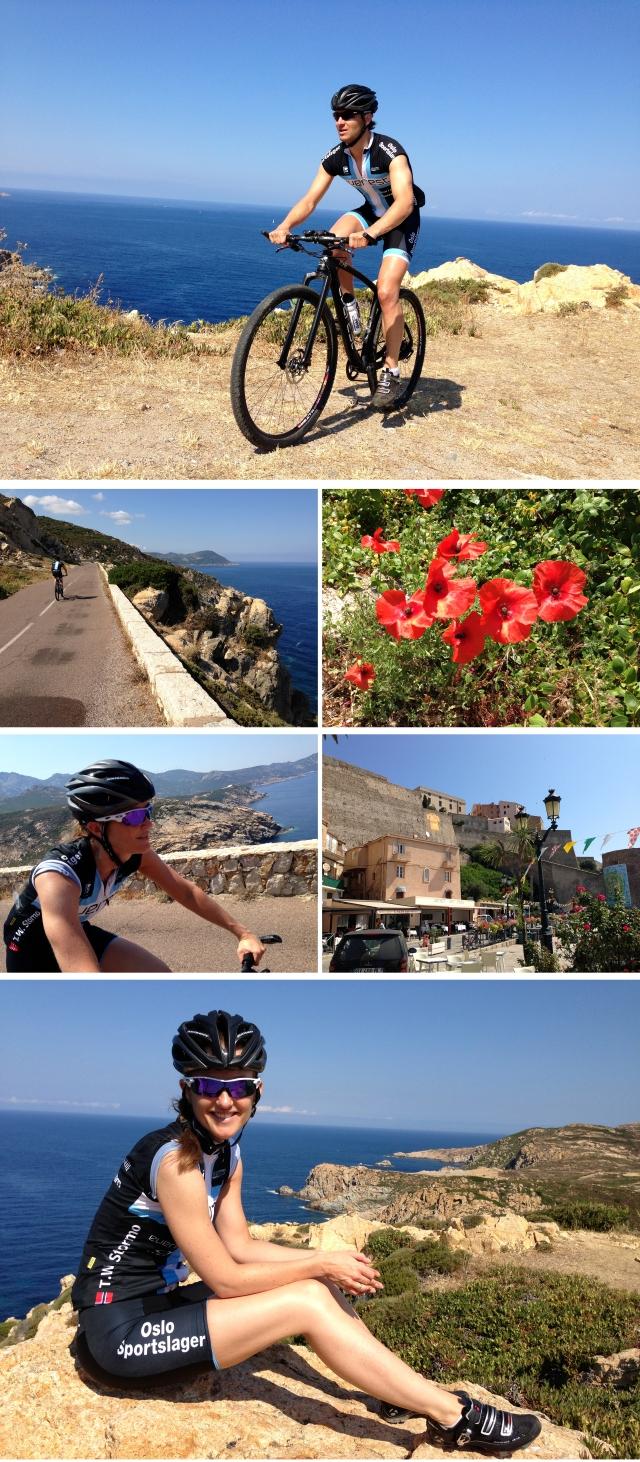 Sykling på Korsika 2