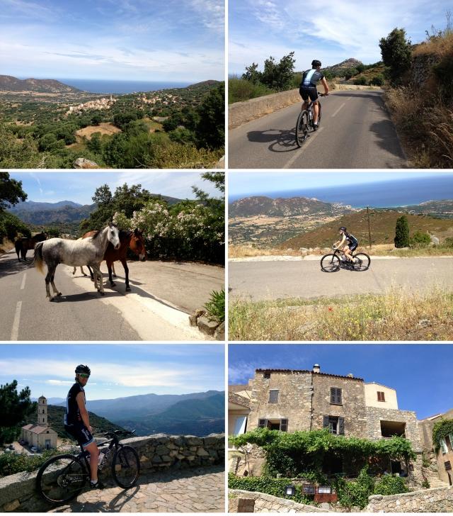 Sykling på Korsika