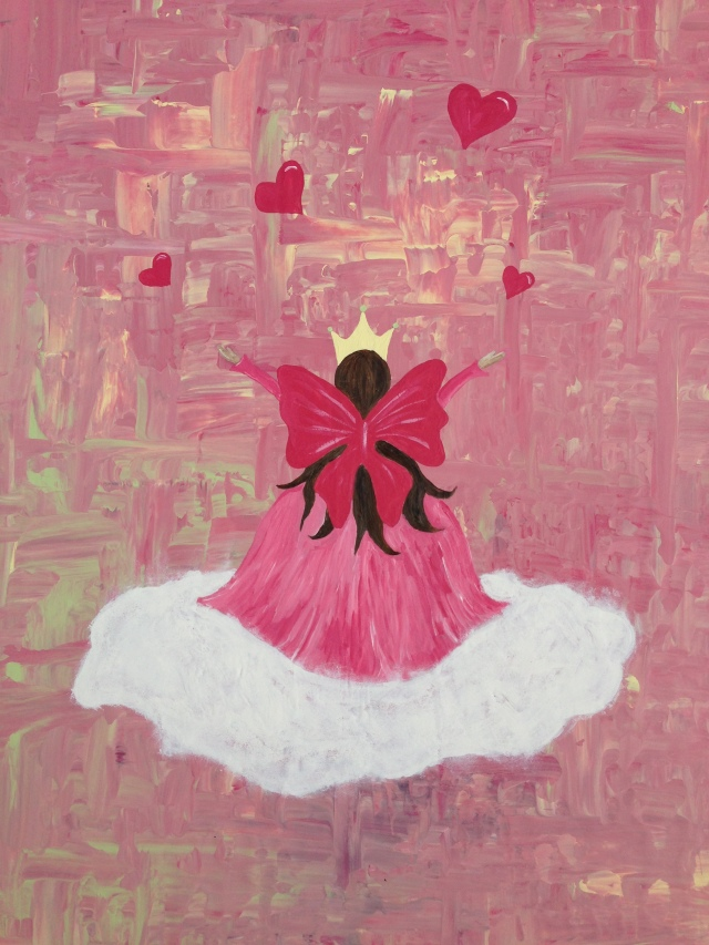 Rosa maleri 2