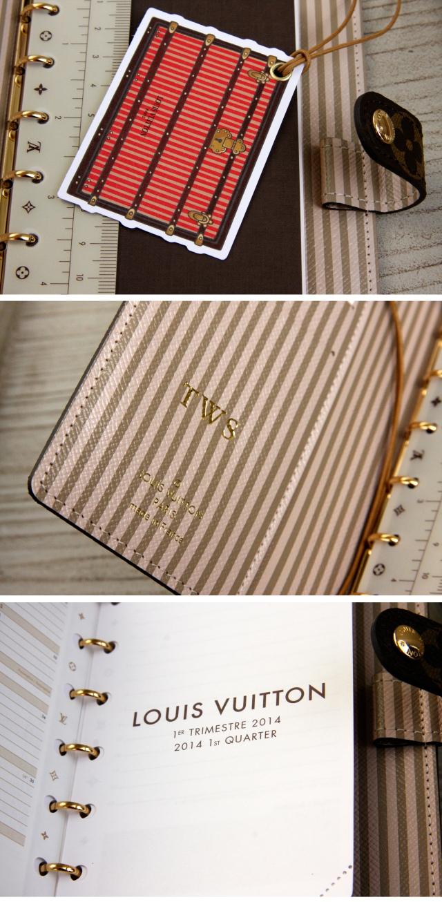 Louis Vuitton agenda cover 2