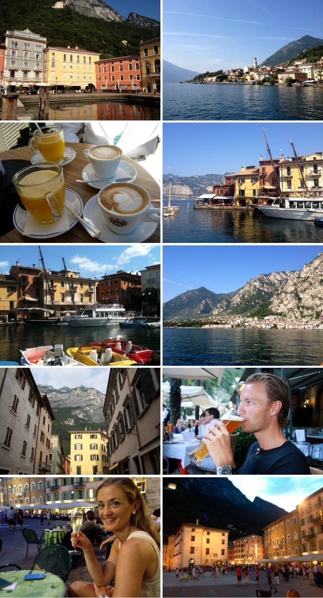 Bilder fra Riva del Garda og Gardasjøen