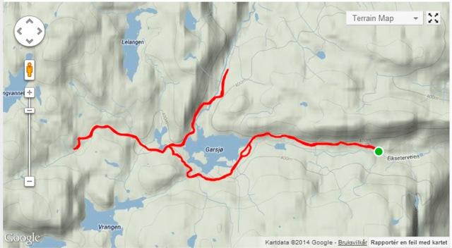 Dagens skitur i Finnemarka