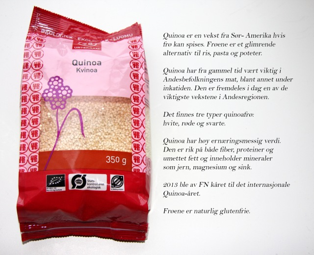 Fakta om Quinoa