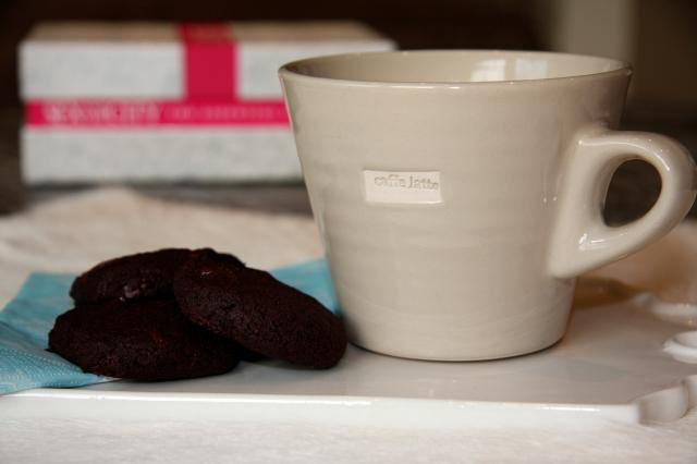Myke sjokoladekjeks