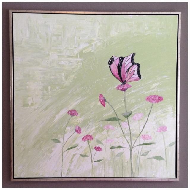 Nytt maleri med sommerfugl 2
