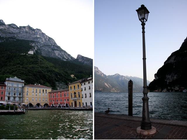 Riva del Garda og Gardasjøen