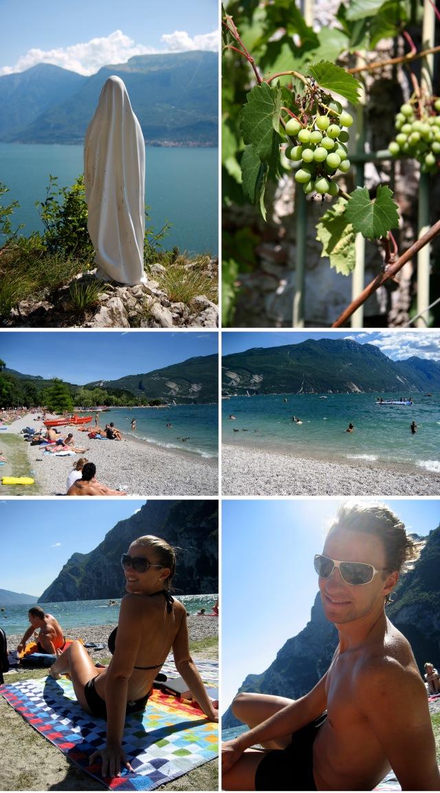 Riva del Garda og Gradasjøen