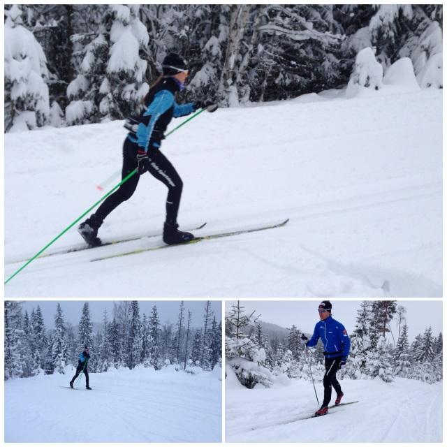Rolig skitur i Finnemarka 2