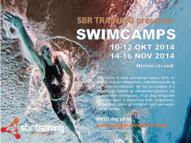 Swimcamp med Tom Remman SBR