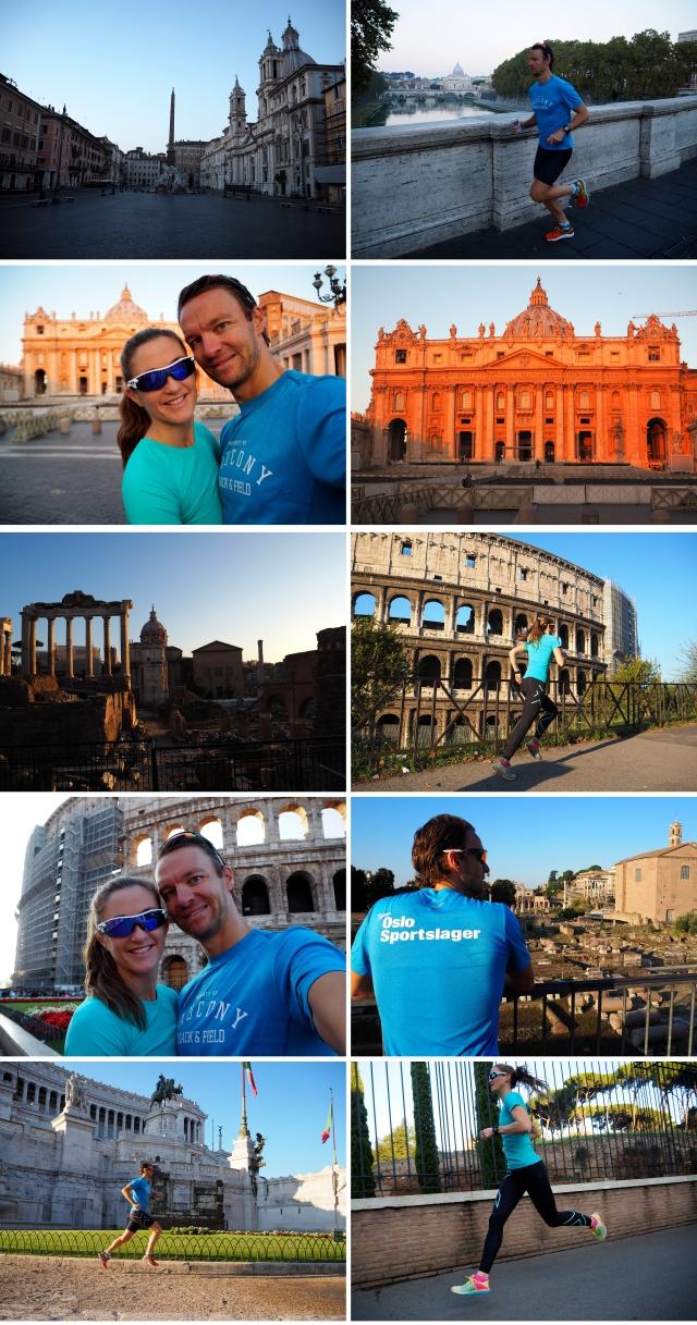 Roma løping dag 2
