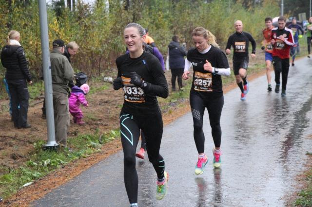 Trude på Hytteplanmila 2014
