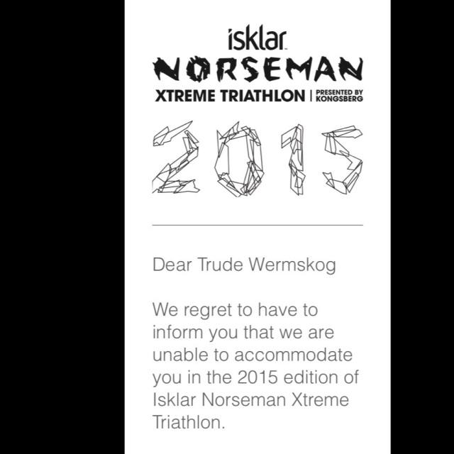 Uflaks i Norseman-lotteriet