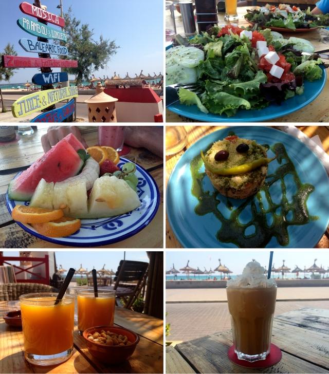 Bon Vent cafe og bar Mallorca 2015