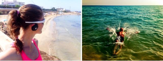 Løping på Playa de Palma Mallorca 2015