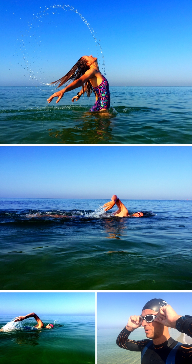 Svømming på Mallorca 2 2015