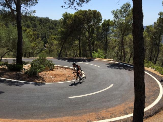 Trude opp Coll de Sa Creu Mallorca