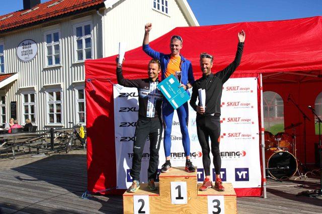 Jarle Wermskog, Lars Petter Stormo og Fredrik vedvik på pallen i Montebelloløpet