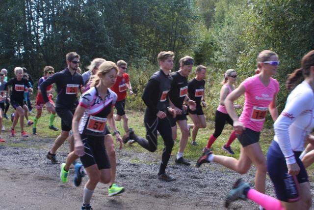 Trude Wermskog Stormo på starten av Montebelloløpet