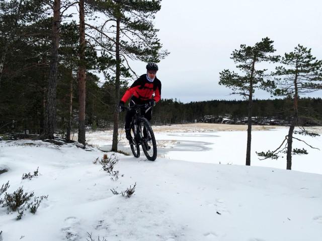 Vintersykling med terrengsykkel 2