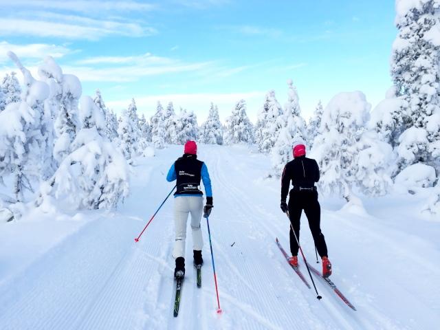 Skitur i Drammensmarka 1