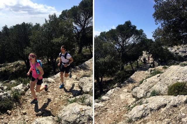 Løpetur i fjellene på Mallorca