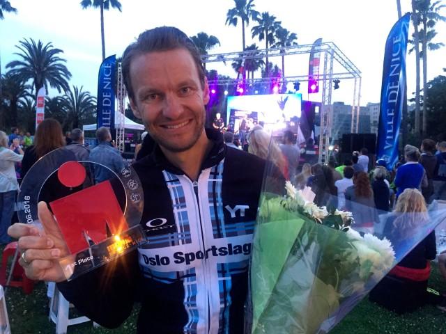 Lars Petter klasseseier ironman Nice 2016