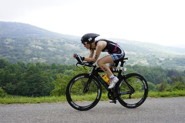 Trude ironman Nice - Sykkel tempo