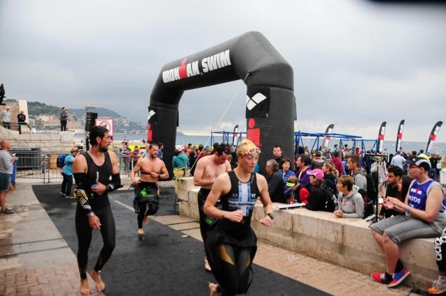 Trude opp av vannet Ironman Nice