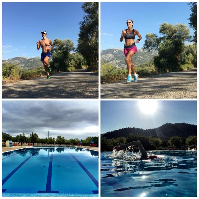 Løping og svømming i Mancor og Caimari Happytimesno