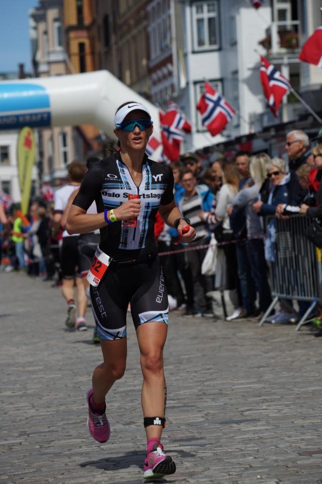 Trude Wermskog Stormo Ironman Haugesund 2016 løoing
