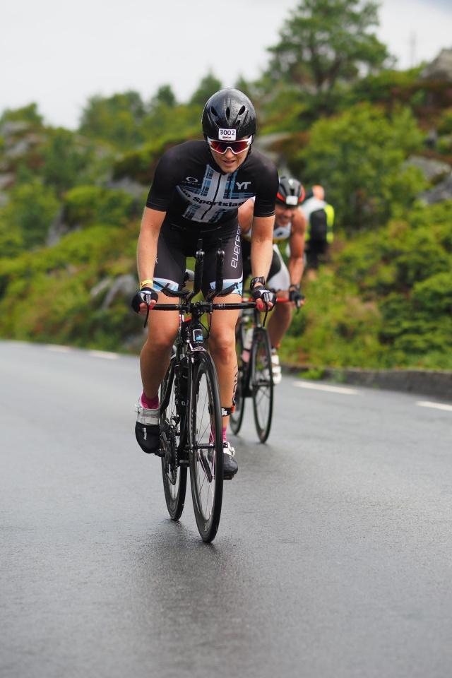 Trude Wermskog Stormo Ironman Haugesund 2016 sykkel
