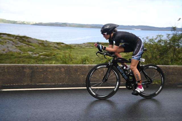 Trude Wermskog Stormo Ironman Haugesund 2016 sykkeldel