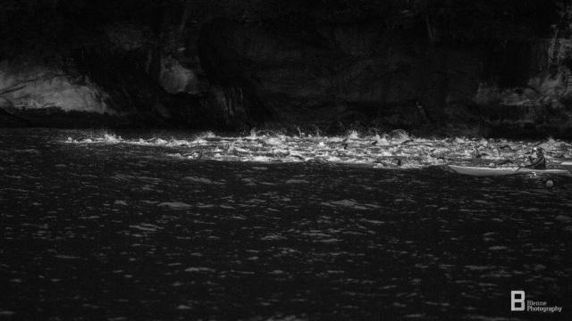Svømmestarten Norseman 2016 Foto Blenne Photography