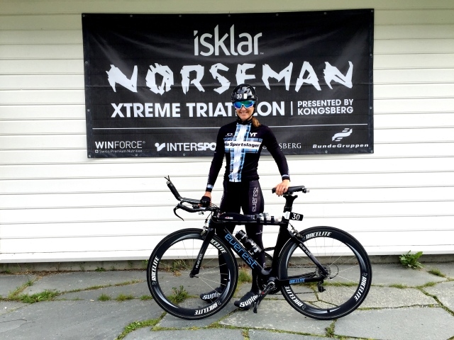 Trude Stormo klar for Norseman 2016 (2)